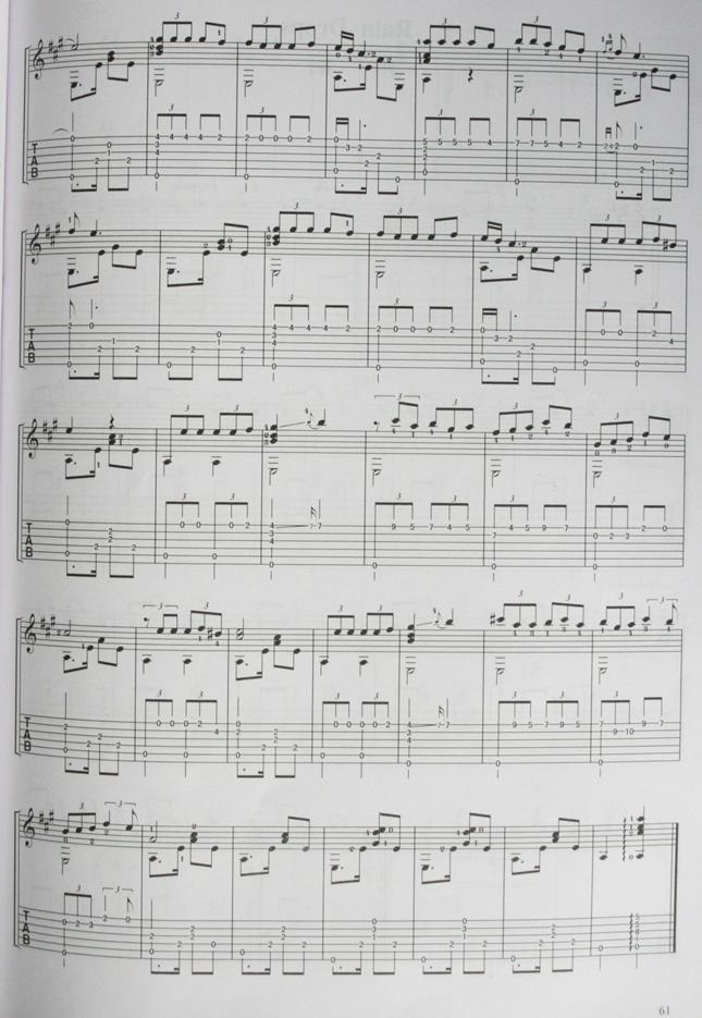 古典吉他曲 鸽子